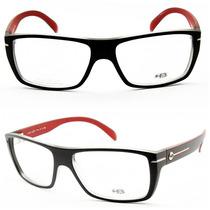 Armação Óculos Para Grau Masculino Hb Polytech- 93023