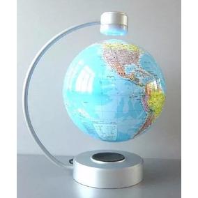 Globo Terrestre Flutuante Giratório Anti-gravidade Miniatura