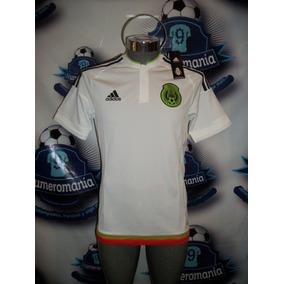 Jersey Original adidas Selección Mexicana Visita 2015 Mexico