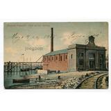 Postal Usina De Luz Electrica Paysandu Uruguay 1908