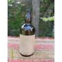 Antigua Botella Tipo Whisky Licor Removedor El Crak Cerrada