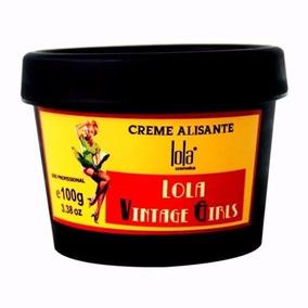 Lola Cosmetics Vintage Girls Hair Creme Alisante Botox 100g