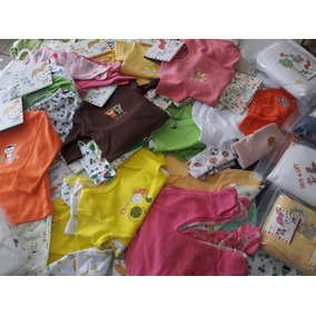 Lote Ropa Bebé Nva 50 Pzas Inicia Negocio Elige 0-24 Meses