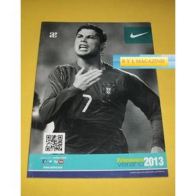 Cristiano Ronaldo Revista Catalogo Andrea 2013 Lio Messi