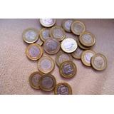 Coleccion Monedas 1 Bolivar Años 2007 09 Y 12 Borde Dorado