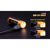 Bateria Pilha Aa Li-ion 1,5v Recarregável Usb Fenix 1600 Mah