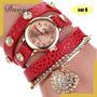 Kit 10 Relógios Pulseiras Femininos Super Lindo.