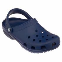 Zapato Crocs Hombre Azul Ma Talla 11 Americana - 29 Mexicana