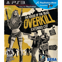 The House Of The Dead Overkill Extended Cut Midia Fisica Ps3