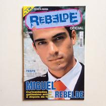 Revista Mania Rebelde Oficial Teste Miguel Nº01
