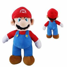 Boneco Pelucia Super Mario Bros 25cm Musical