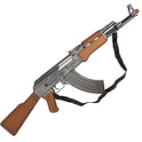 Rifle Airsoft Ak47 Kalashnikov Spring 6mm - Cybergun
