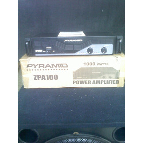 Amplificador Profesional Stereo, Planta Poder.pyramid Zpa100