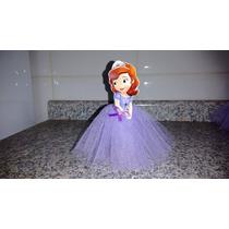Personalizado Kit 10 Tubete Princesa Sofia Com Tule