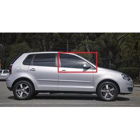 Vidro Porta Polo Dianteira Direita Hatch E Sedan 2003 A 2015