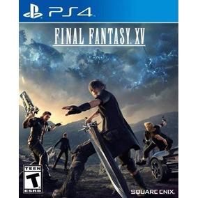 Final Fantasy Xv Juego Ps4 Playstation 4 Stock