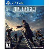 Final Fantasy Xv Juego Ps4 Playstation 4 Stock