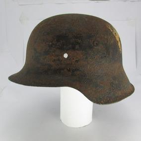 Raro Capacete Alemão M1942 Waffen Ss Normandia Ww2