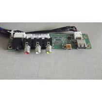 Placa Av E Usb Tv Semp Toshiba Lc3246(b)wda