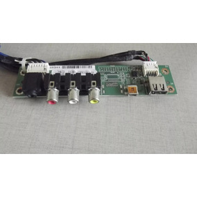 Placa Av E Usb Tv Semp Toshiba Lc3246(b)wda Lc3246 - Semi No