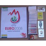 Euro 2008 Album Completo Figuritas A Pegar Panini Futbol