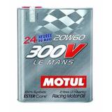 Aceite Motul 300v 20w60 2l 100% Sintético Competición E/t/p