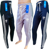 Pantalon Jogging Chupin Hombre Adidas Deportivo Gimnasio