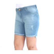 Bermuda Cintura Alta Biotipo 19902 Kalbatt Jeans