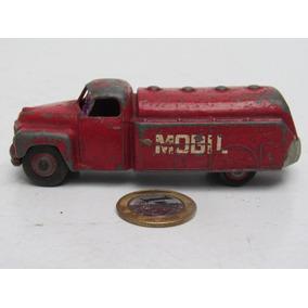 Dinky Toys Meccano Brinquedo Antigo Caminhão Tanque Mobil