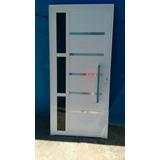 Porta Lambril 210x80 Branca Com Puxador