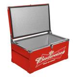 Caixa Térmica Budweiser Vermelha 110 Litros