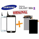 Kit Tela Touch + Display Lcd Galaxy Win 2 Duos Tv G360 Visor
