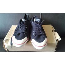 Zapatos Levis Originales De Caballero Negro Blanco