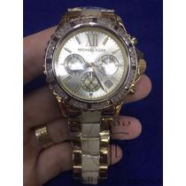 Relógio Feminino Michael Kors Prata Ouro Rose Originais Mk