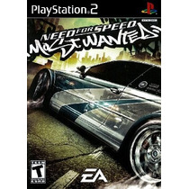 Patch Jogo De Corrida Nfs Mostwanted Play 2 Ps2 Playstation2