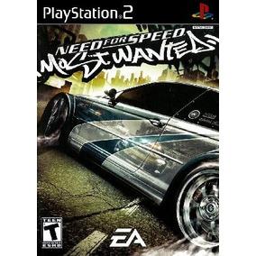 Patch Jogo De Corrida Nfs Mostwanted Play 2 Ps2 Playstation2