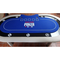 Mesa De Poker Profesional Con Logotipo