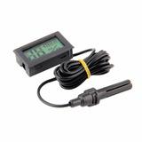 Higrómetro Y Termómetro Digital Con Sonda + Pilas Incluidas