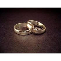 Alianzas Para Casamiento En Oro 18 Kts. 6 Gramos El Par