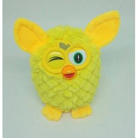 Boneco Furby Azul Rosa Amarelo Laranja Brinquedo Infantil