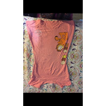 Camisa Para Dormir Femenina De Garfield