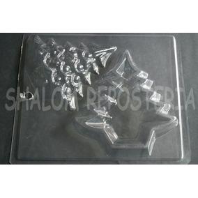 *molde Alhajero Pino Arbol De Navidad Yeso Chocolate*