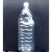 Embalagem Garrafa Pet 2litros C/ Tampa E Lacre - 50 Unidades