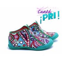 Zapatillas De Te Para Tres Diseño Con Toda La Onda Y Comodas