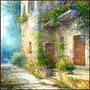 Placa Vintage King Mdf 27x27cm Flores No Jardim Bcq.00208