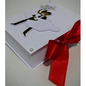 10 Caixas Convite Lembrancinha Casamento Padrinhos Noivos