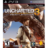Ps3 Digital Uncharted 3 Drake Deception - Descarga Digital