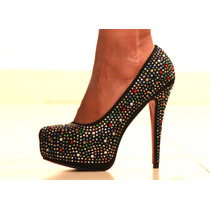 Sandalia Stiletto Importado Zapato Fiesta Plataforma Aguja
