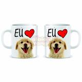 Amo Meu Labrador - Labrador - Caneca Personalizada