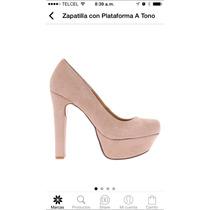 Zapato Stileto Ver Ceresnia 24.5 Nude Ante Madden